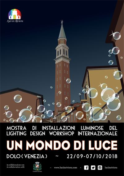 LIGHTING DESIGN WORKSHOP INTERNAZIONALE 'UN MONDO DI LUCE 2018'
