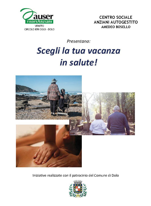 SOGGIORNI CLIMATICI \'SCEGLI LA TUA VACANZA IN SALUTE!\' - Comune di Dolo