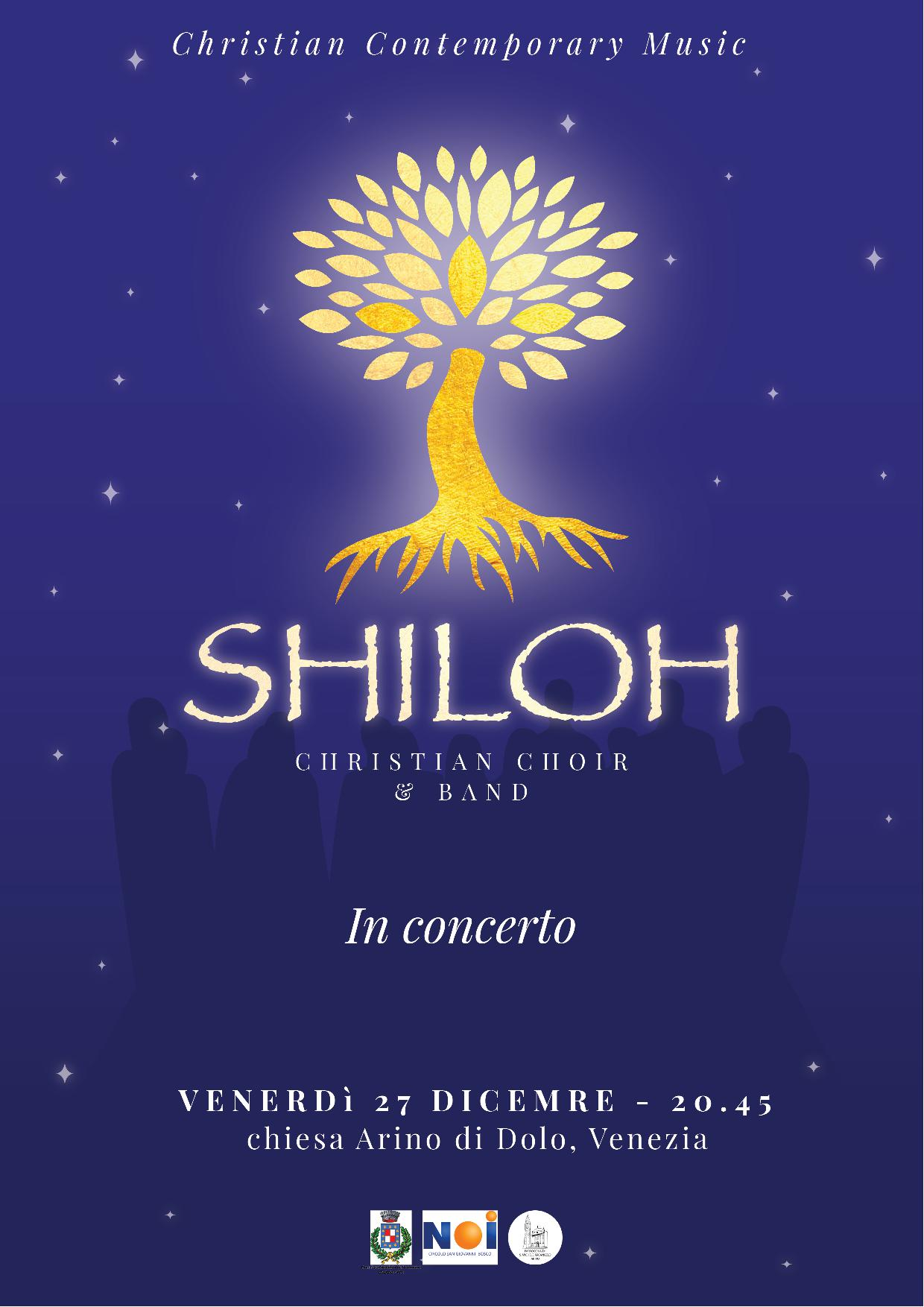 'SHILOH. CHRISTIAN CHOIR & BAND IN CONCERTO'