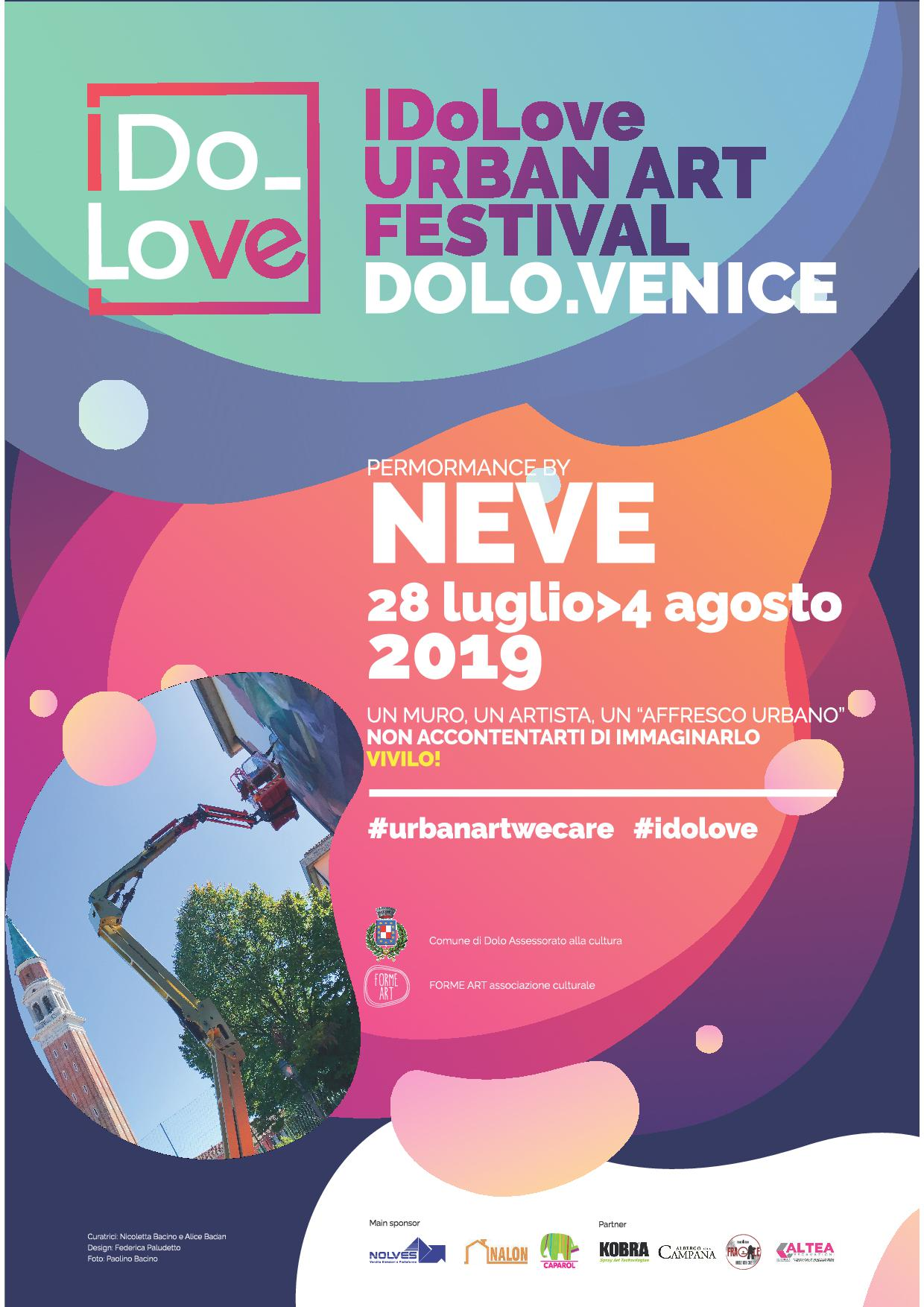 'IDoLove URBAN ART FESTIVAL DOLO.VENICE: PERFORMANCE BY NEVE'
