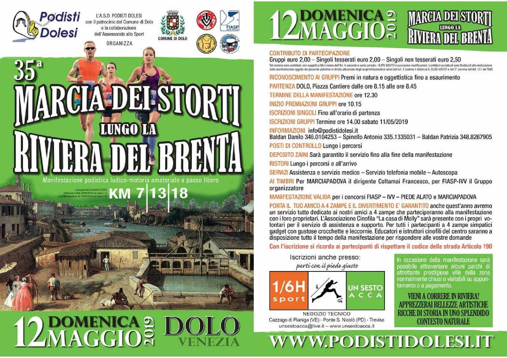 Fiasp Calendario 2020.35 Marcia Dei Storti Lungo La Riviera Del Brenta Comune